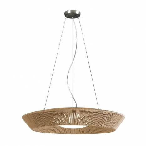 OLE by Fm Banyo pendant lamp 75cm rope beige