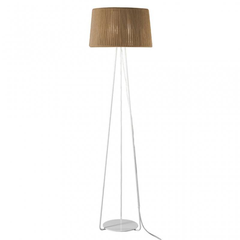 Ole by fm drum floor lamp 1l e27 rope beige ole by fm drum floor lamp 1l rope beige aloadofball Choice Image