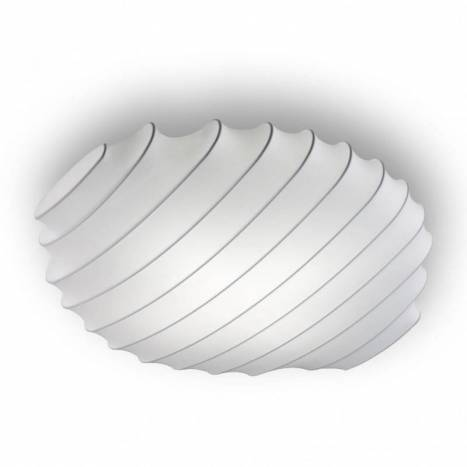 OLE by FM Snow ceiling lamp LED 40w 80cm white fabric