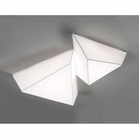 OLE by FM Tana ceiling lamp 60cm white fabric