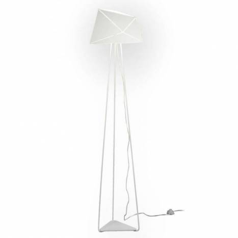 OLE by FM Slide floor lamp 1L white