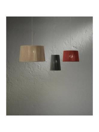 Lámpara colgante Drum cordon colores - Ole