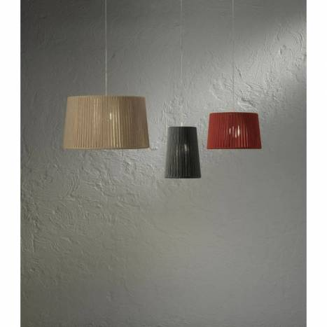 OLE by FM Drum pendant lamp rope colors
