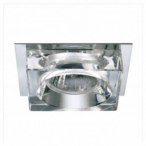 OLE by FM 511 square recessed light chrome