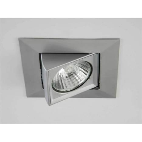 OLE by FM TKubic square recessed light nickel