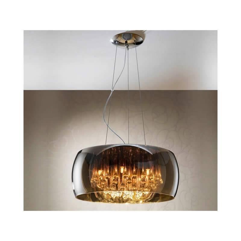 L mpara colgante argos 50cm cristal schuller - Lamparas schuller ...
