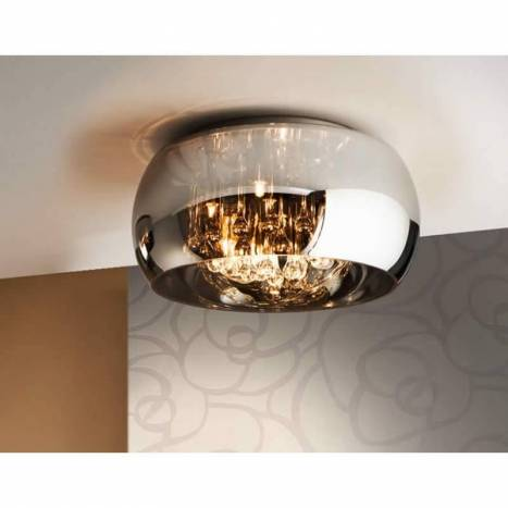 SCHULLER Argos ceiling lamp chrome