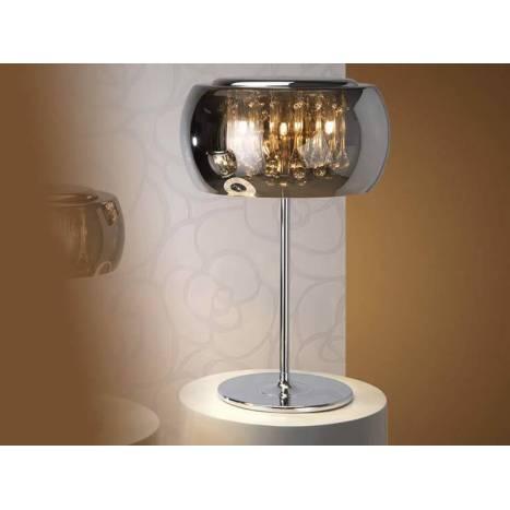 SCHULLER Argos table lamp large chrome