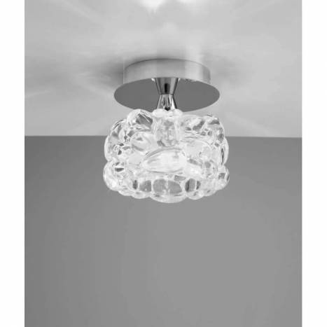 Mantra O2 ceiling lamp 1L G9 LED chrome