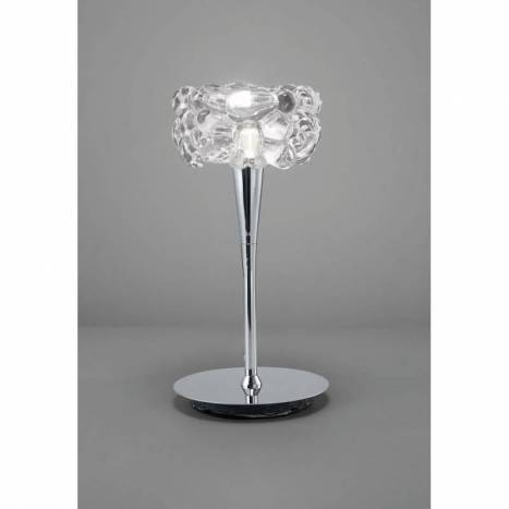 Mantra O2 table lamp 1L G9 LED chrome