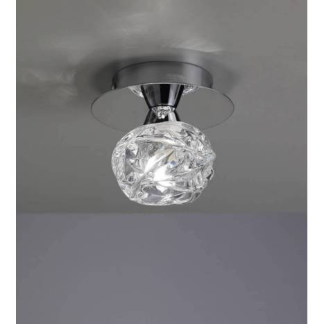 Mantra Maremagnum ceiling lamp 1L G9 LED chrome