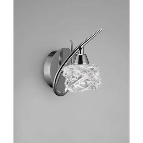 Mantra Maremagnum wall lamp 1L G9 LED chrome