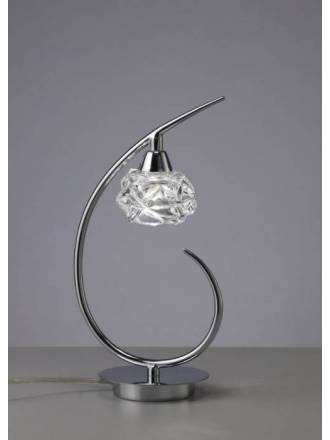 Sobremesa Maremagnum 1L G9 LED cristal - Mantra