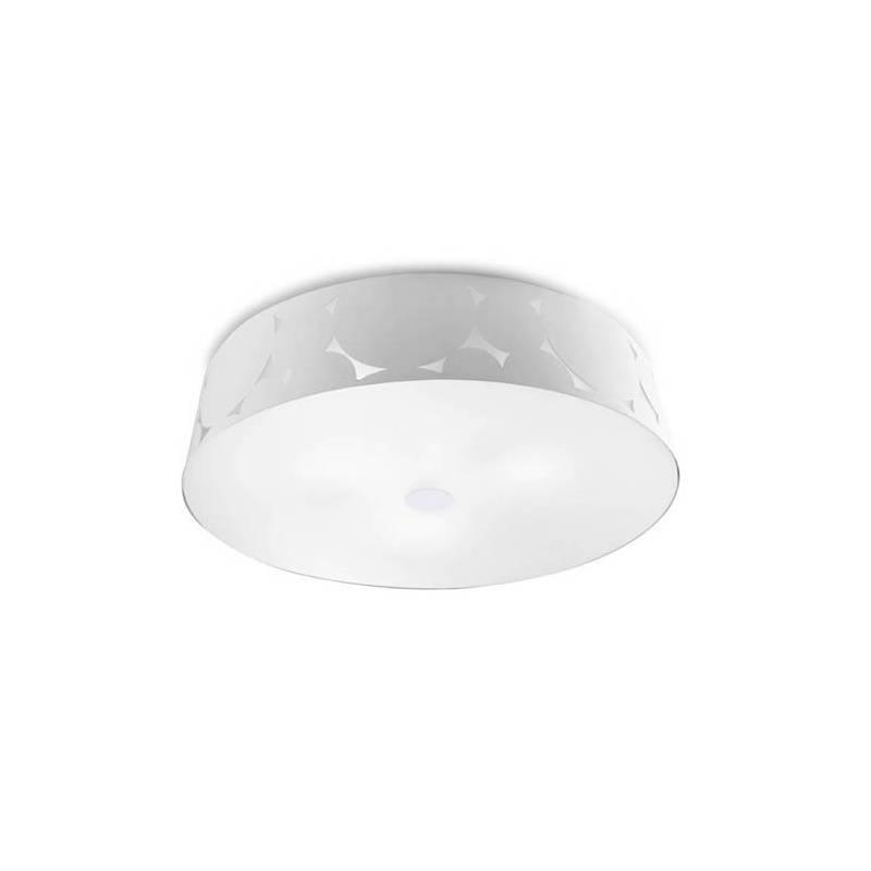 Plaf n de techo trama 3 luces blanco leds c4 - Luces de techo led ...