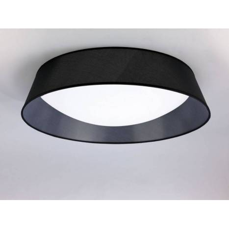 MANTRA Nordica 90cm black ceiling lamp