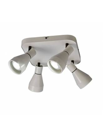 MANTRA Kos 4L GU10 spotlight lamp white