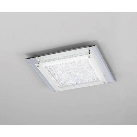 Plafón de techo Crystal Mirror LED 18w - Mantra