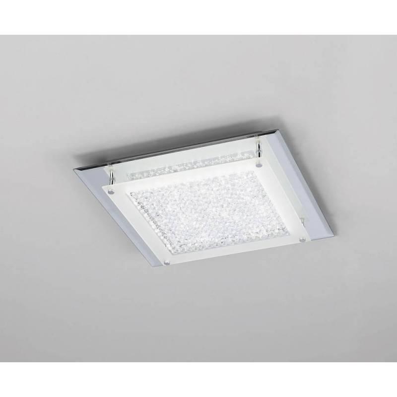 Plafón de techo Crystal Mirror LED 18w - Mantra