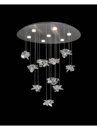 Lámpara colgante Nido LED 80w 90cm - Mantra