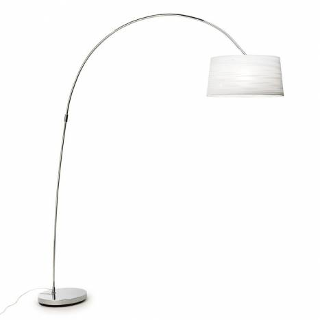 LEDS-C4 Magma floor lamp 1L white fabric