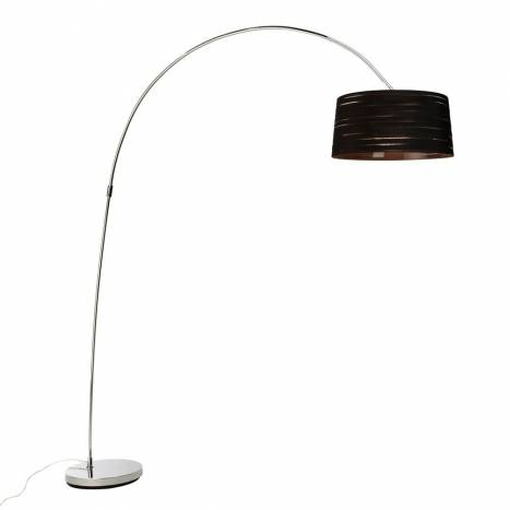 LEDS-C4 Magma floor lamp 1L black fabric