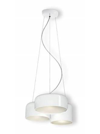 OLE by FM Pot white pendant lamp