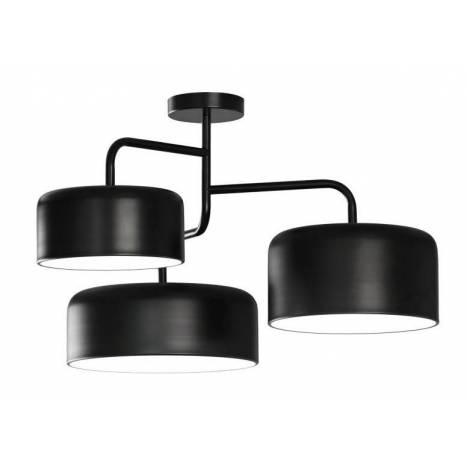 Lámpara de techo Tono 5L E27 metal - Ole