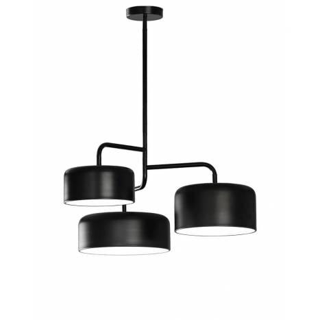 Lámpara colgante Tono 5L E27 metal - Ole