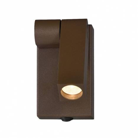 ACB Celsio wall lamp LED metal brown
