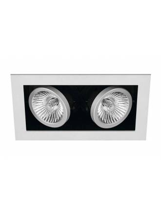 Foco empotrable Cardan Mini 2 luces gris - Onok