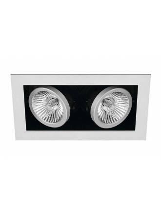 Foco empotrable Cardan Mini 2 luces gris - Onok