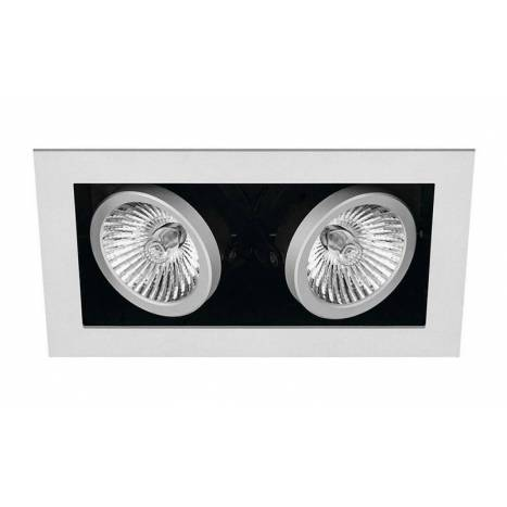 ONOK Cardan Mini 2 recessed light silver aluminium