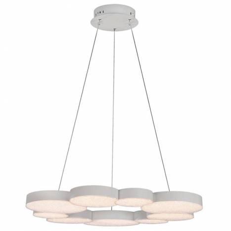Lámpara colgante Lunas LED 76w regulable + mando - Mantra