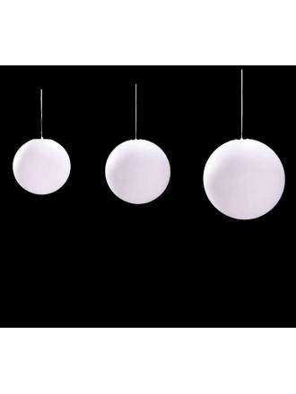 Lámpara colgante Bola policarbonato IP44 - Mantra