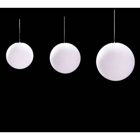 Mantra Ball pendant lamp polycarbonate IP44