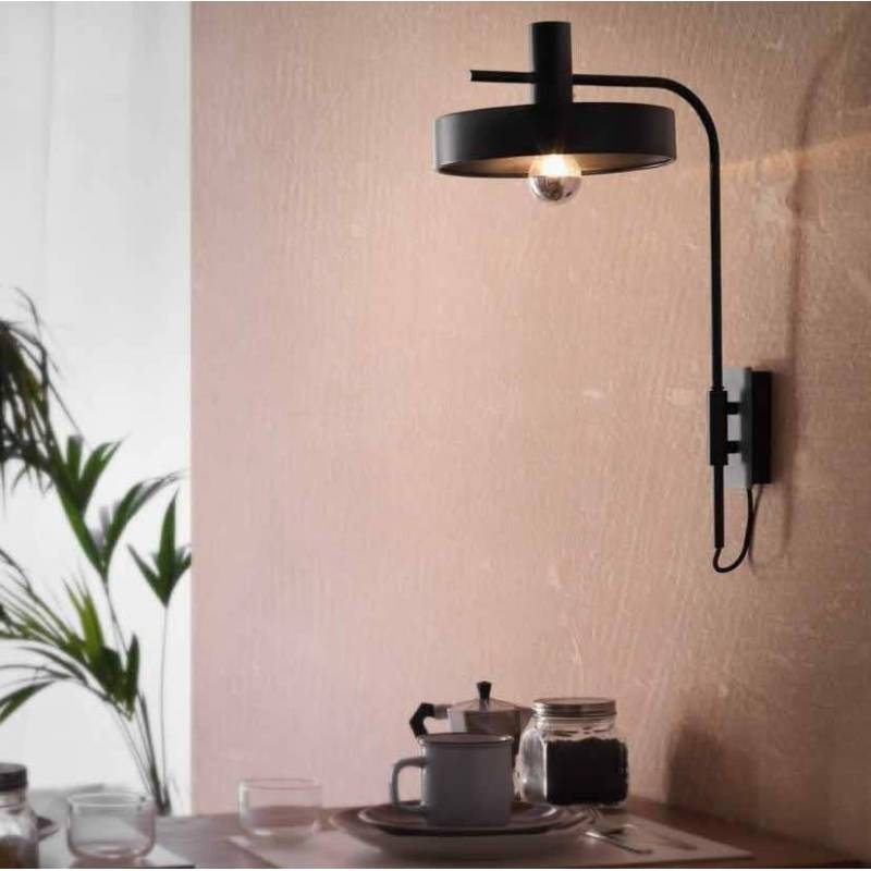 AROMAS Aloa 1L E27 wall lamp metal