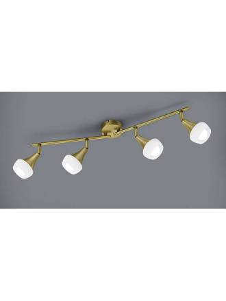 TRIO Trumpet 4L E14 brass surface spotlight