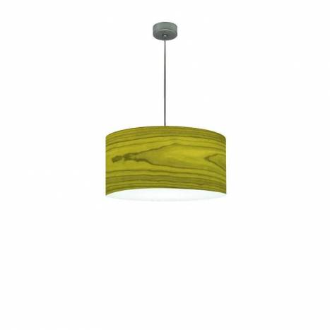 Icono drum green veneer e27 pendant lamp icono drum green veneer pendant lamp aloadofball Image collections