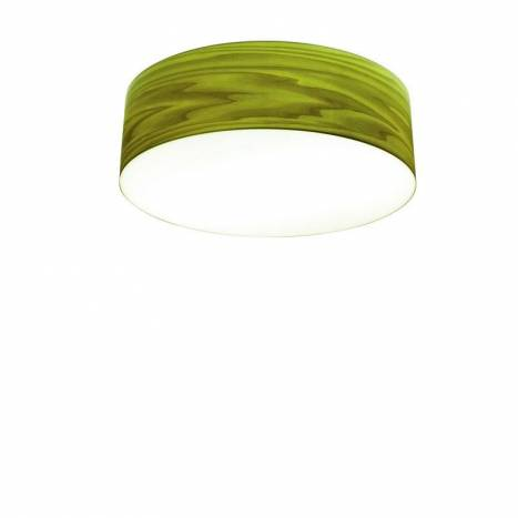 Icono drum e27 green veneer ceiling lamp icono drum green veneer ceiling lamp aloadofball Images