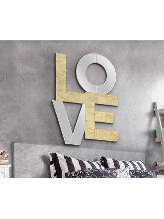 Espejo de pared Love 60x80 - Schuller