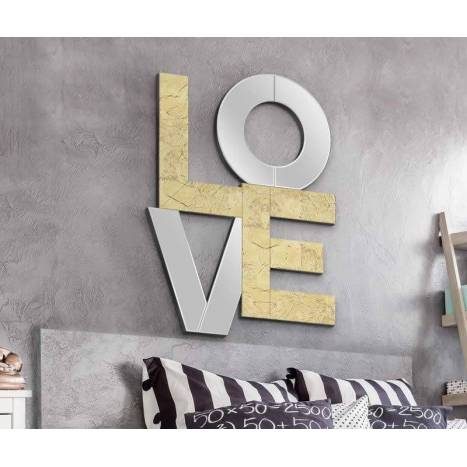 Espejo de pared Love 60x80 - Schuller