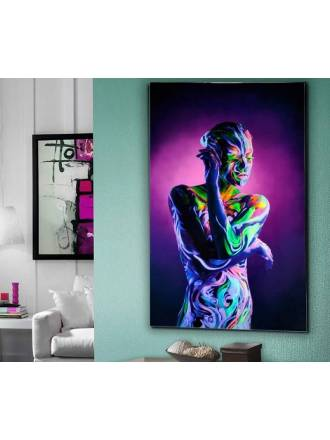 Fotografía impresa Body Paint cristal - Schuller
