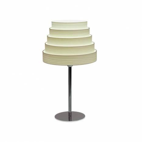 Lámpara de mesa Tower madera blanco - Icono