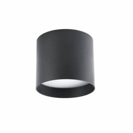 Plafón de techo Natsu LED 30w negro - Faro