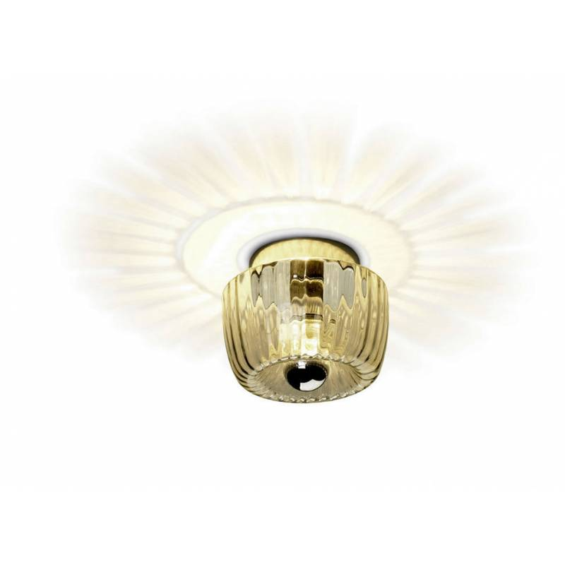 LEDS-C4 Sunny wall lamp chrome and glass