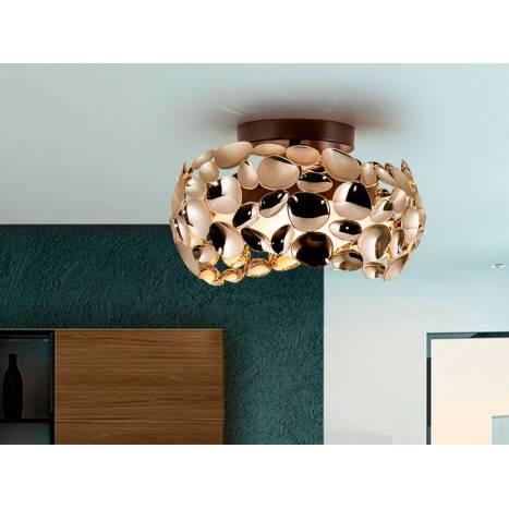 Plafón de techo Narisa 32cm oro - Schuller