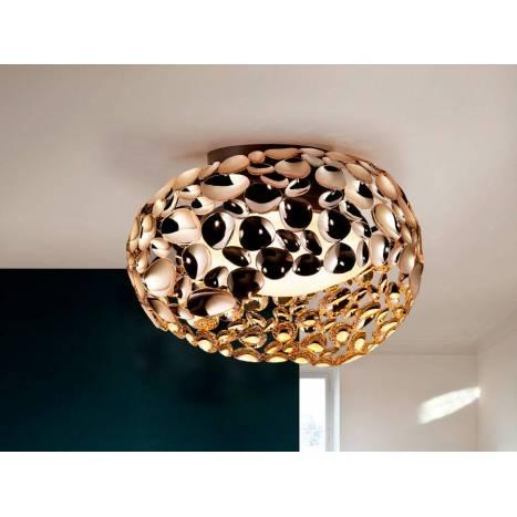 Plafón de techo Narisa 47cm oro - Schuller