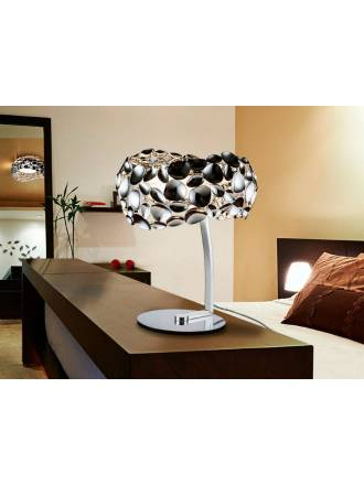 SCHULLER Narisa table lamp 3l chrome