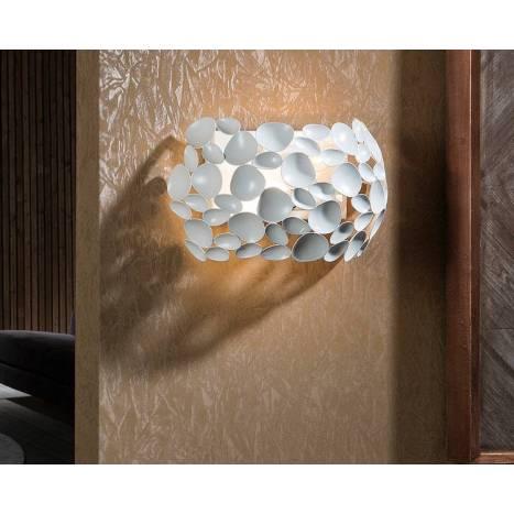 Aplique de pared Narisa 2l blanco - Schuller