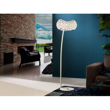 Lámpara de pie Narisa 5l blanco - Schuller